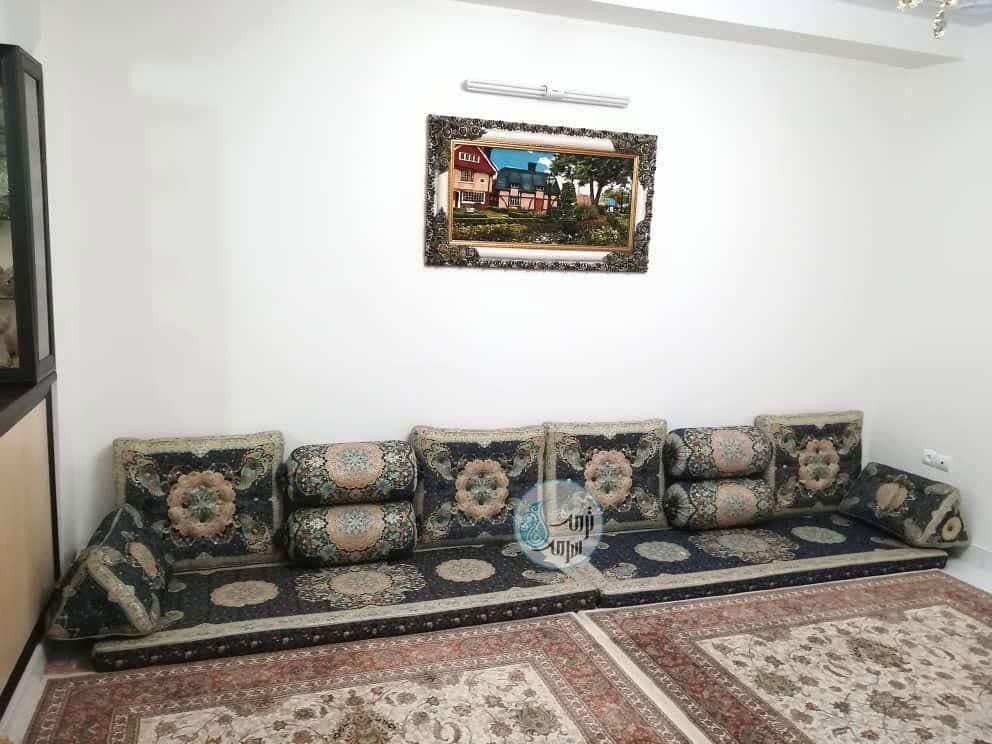 سرویس شاه نشین سنتی افشار سورمه ای