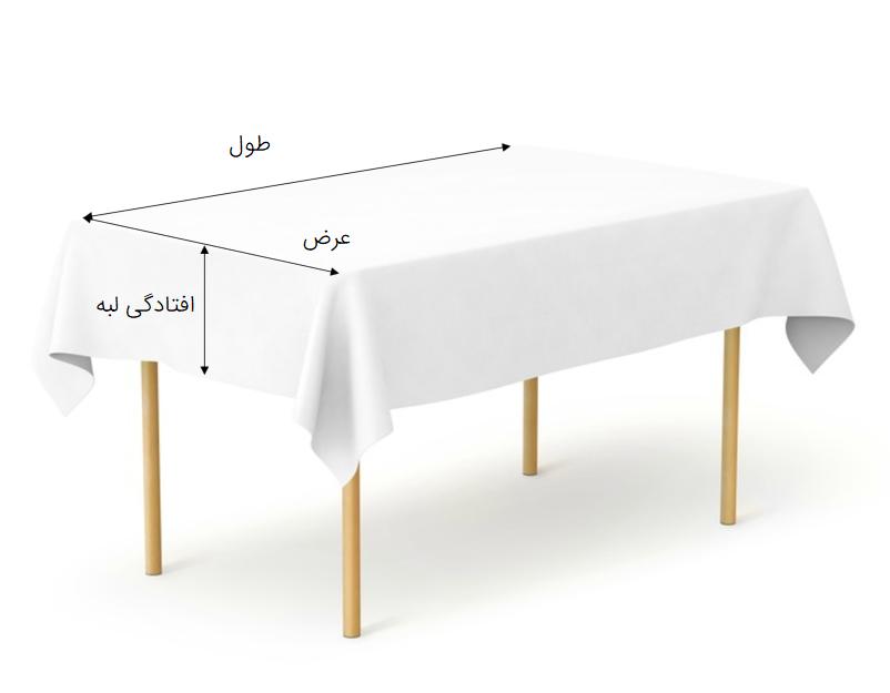 اندازه گیری میز