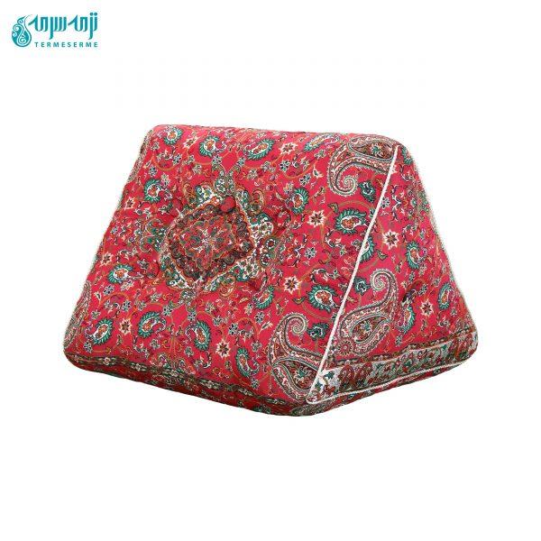پشتی مثلثی سنتی ترمه