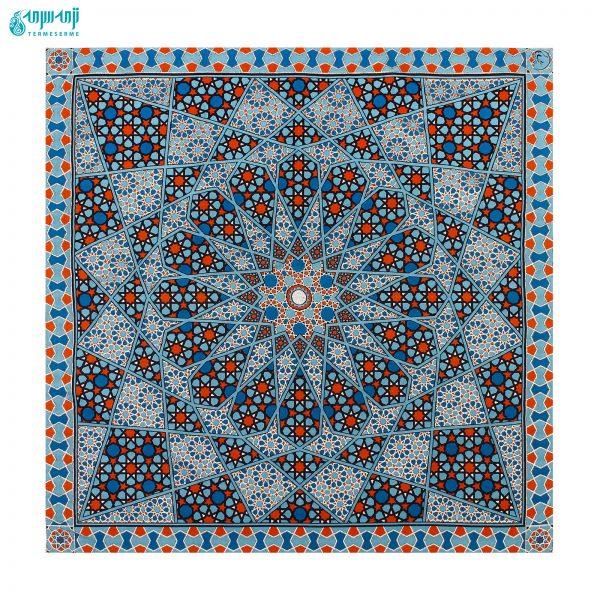 سرویس ۵ تکه رومیزی ابریشمی مدل حافظ کد Hafez1-1007