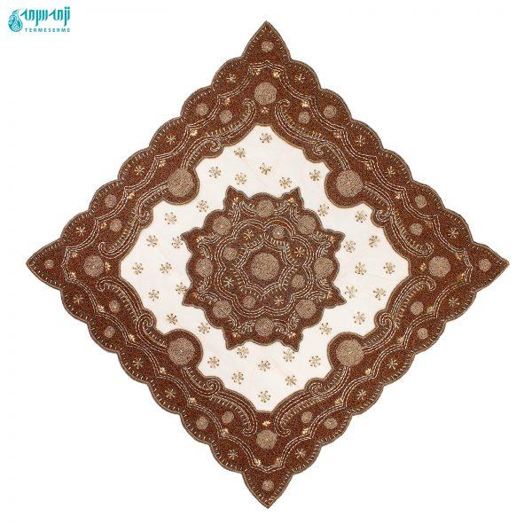 ست ۴ تکه رومیزی هندی مدل رایا کد Ry-ghr