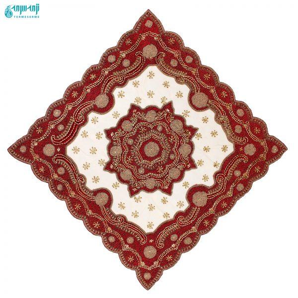 رومیزی هندی سنگ دوزی