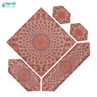 سرویس 5 تکه رومیزی ترمه مدل مسجد شیخ لطف الله